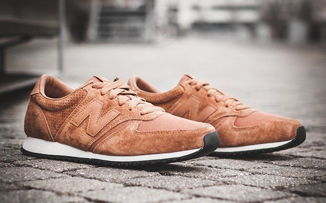 New Balance U 420 PTB Tan White