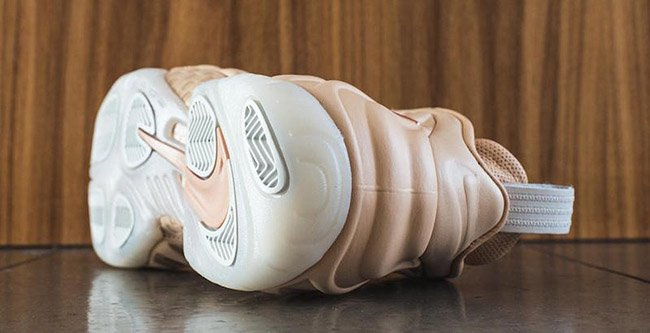 Nike Air Foamposite Pro AS Vachetta Tan Rose Gold Sail
