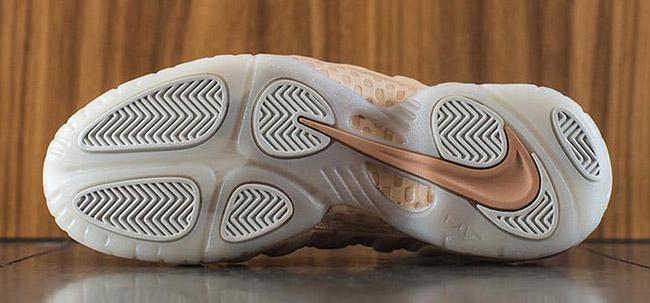 Nike Air Foamposite Pro AS Vachetta Tan Rose Gold Sail