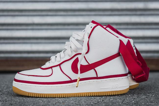 Nike Air Force 1 07 LV8 White Gym Red