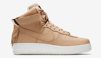 Nike Air Force 1 High Sport Luxury Vachetta Tan