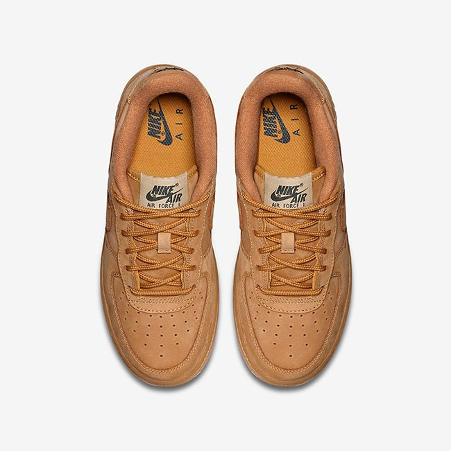 Nike Air Force 1 Low Wheat Flax GS