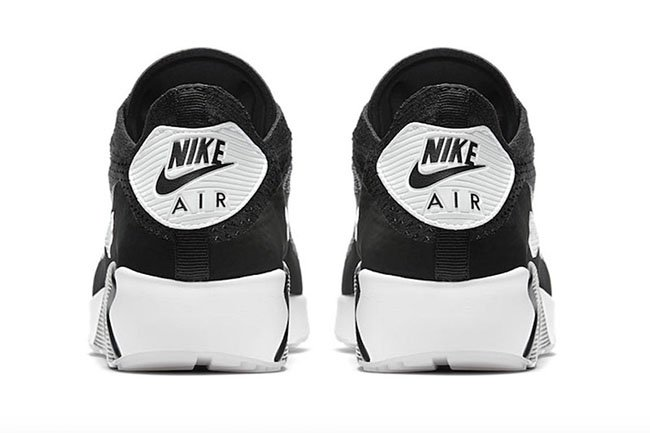 Nike Air Max 90 Ultra 2.0 Flyknit Oreo Black White