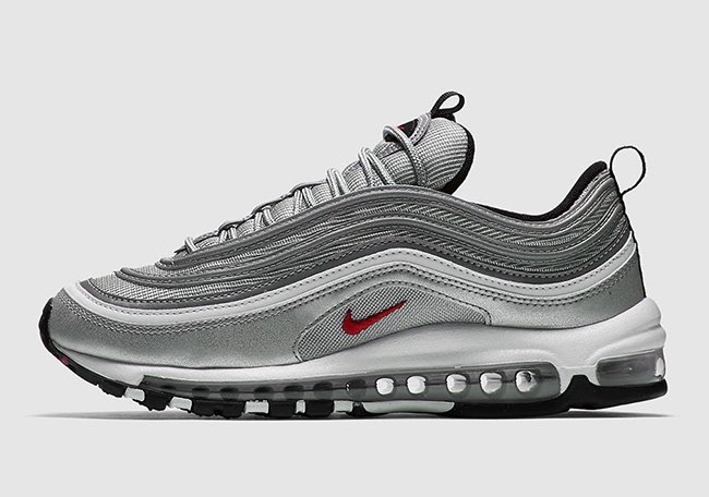 nike air max 97 silver bullet on feet nz