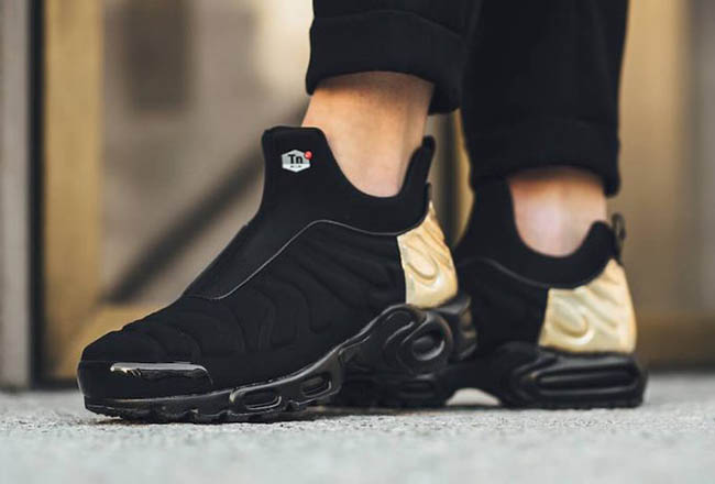 offer discounts casual shoes fast delivery Nike Air Max Tuned Slip Black Metallic Gold | SneakerFiles