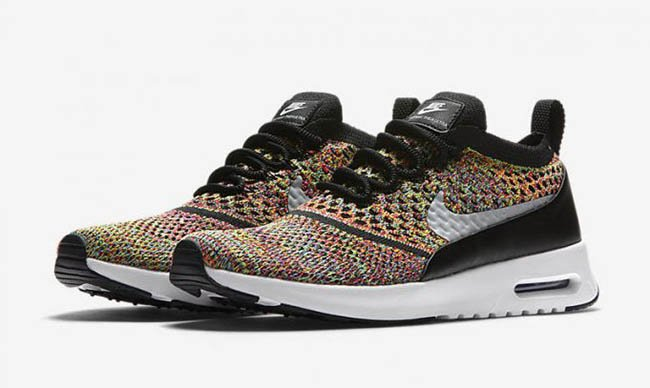 Nike Air Max Thea Ultra Flyknit 'Rainbow Multicolor' in 2019