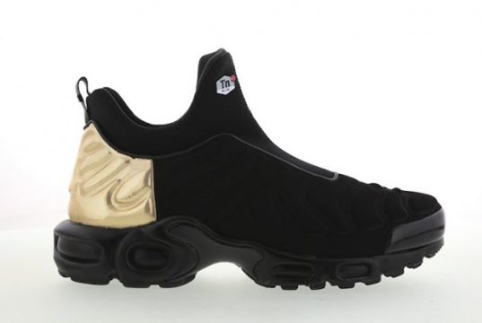 Nike Air Max Tuned Slip Black Metallic Gold