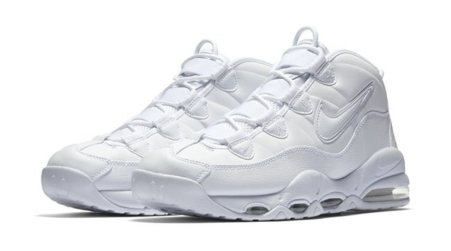 Nike Air Max Uptempo Triple White