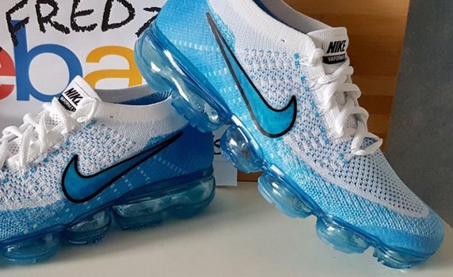 Nike Air VaporMax Light Blue White