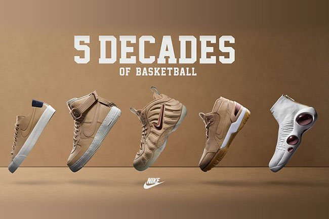 Nike Five Decades of Basketball