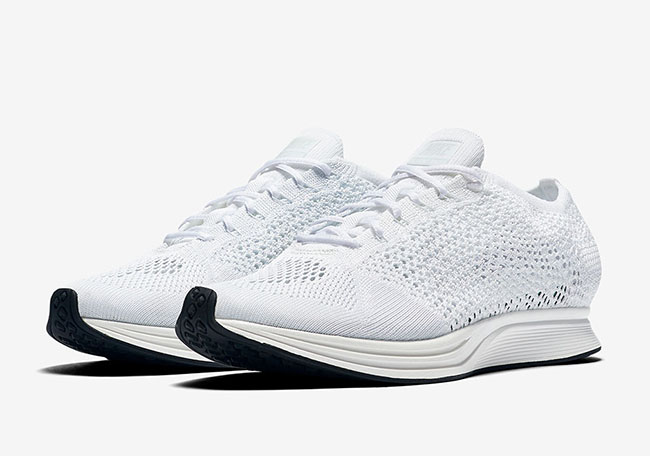 Nike Flyknit Racer Goddess Triple White Release Date