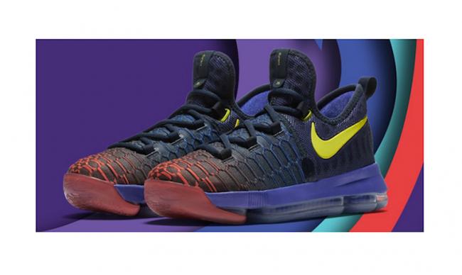 Nike KD 9 'Roar From the Floor' Released for Kids