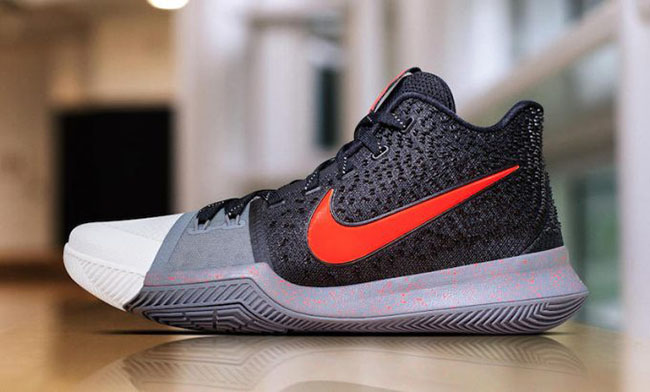 Authentic Real Kyrie 3 White Toe PE
