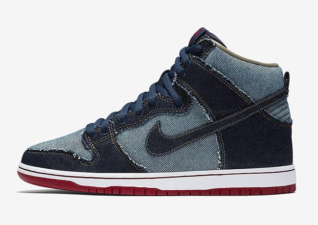 Nike SB Dunk High Denim Reese Forbes
