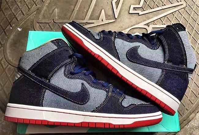 Nike SB Dunk High Denim Release Date