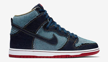 Nike SB Dunk High Reese Forbes Denim