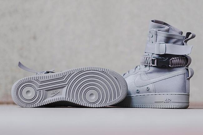 Nike SF-AF1 Triple Grey Release Date