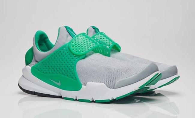 Nike Sock Dart Stadium Green Wolf Grey