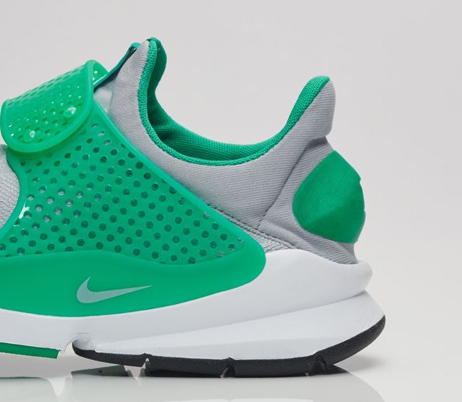 Nike Sock Dart Stadium Green Wolf Grey 819686-004  617d1b5b423e
