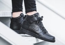 Nike Sportswear Black Croc Collection
