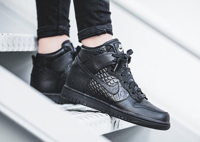 Nike Sportswear Black Croc Collection