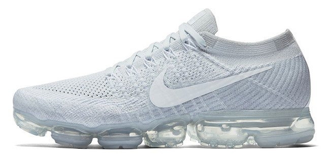 online retailer pick up new lifestyle Nike VaporMax Pure Platinum White | SneakerFiles