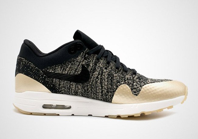 Nike WMNS Air Max 1 Ultra Flyknit Metallic Gold