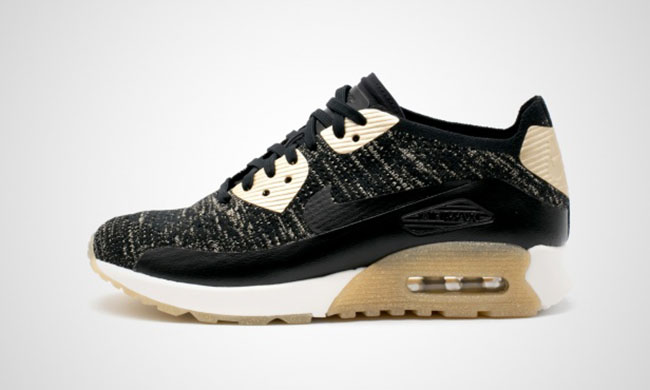 Nike WMNS Air Max Flyknit Metallic Gold Collection