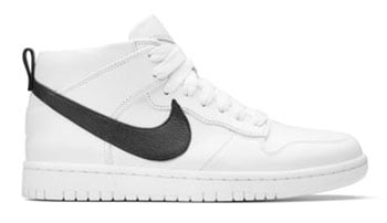 NikeLab Dunk Lux Chukka RT White Black