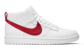 NikeLab Dunk Lux Chukka RT White Red