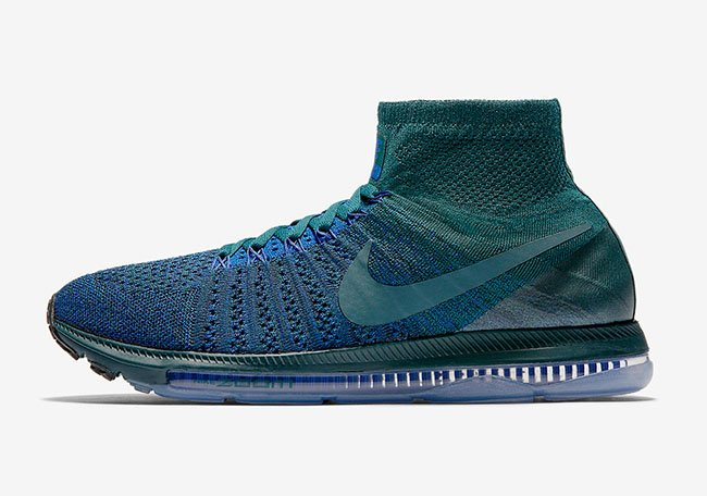 NikeLab Zoom All Out Flyknit Atomic Teal Iced Jade Racer Blue