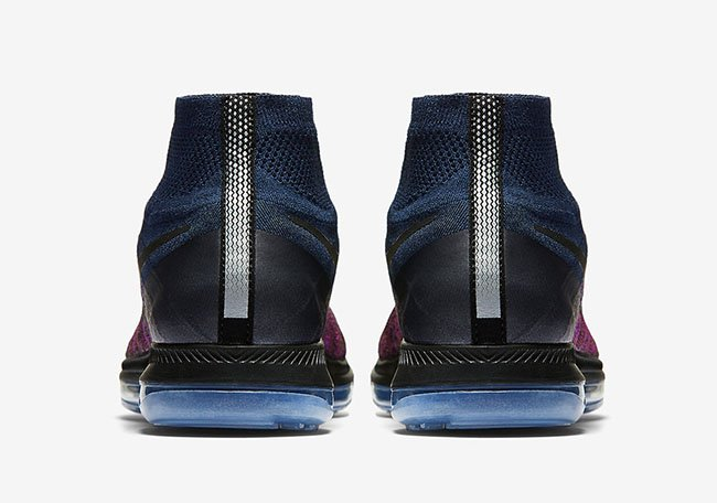 NikeLab Zoom All Out Flyknit College Navy Vivid Purple