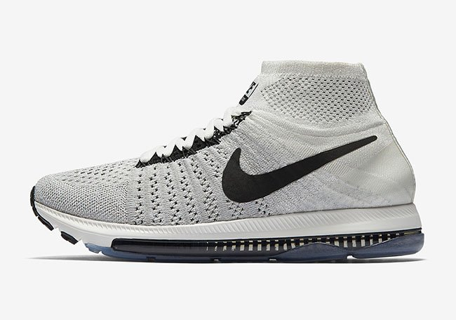 NikeLab Zoom All Out Flyknit Womens Sail Black Pale Grey