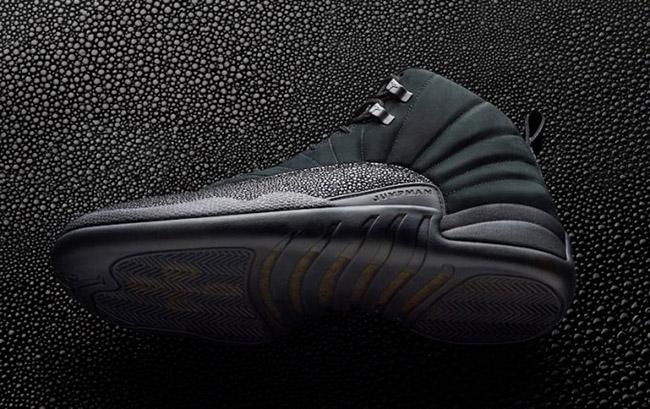 OVO Air Jordan 12 Black Release Info