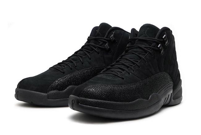 OVO Air Jordan 12 Retro Black Release
