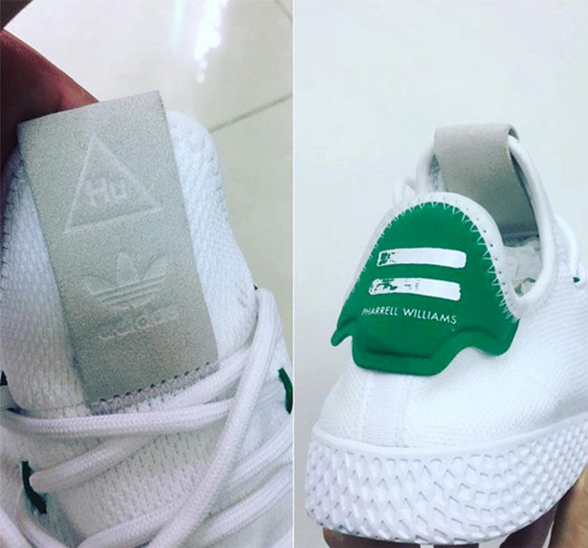 Pharrell adidas Human Race Stan Smith White Green