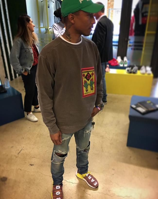 Pharrell adidas NMD Human Race Multicolor