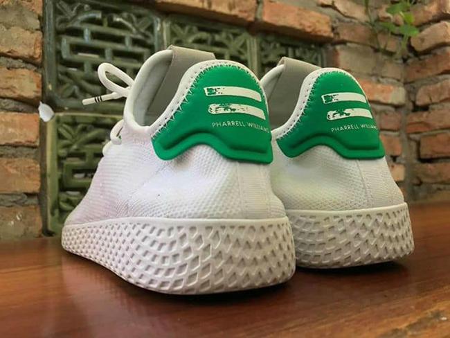 Pharrell adidas Stan Smith HU Human Race White Green