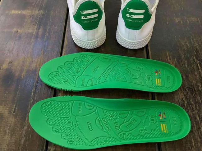 578652f078d78 Pharrell adidas Stan Smith HU Human Race White Green