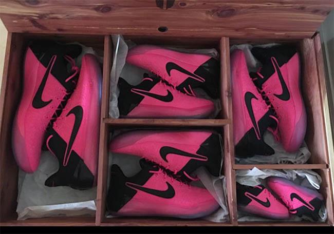 Pink Nike Kobe AD PE Full Family