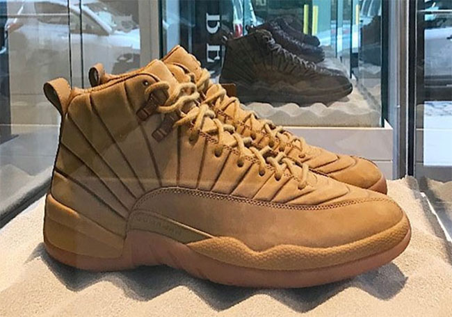 PSNY Air Jordan 12 Wheat
