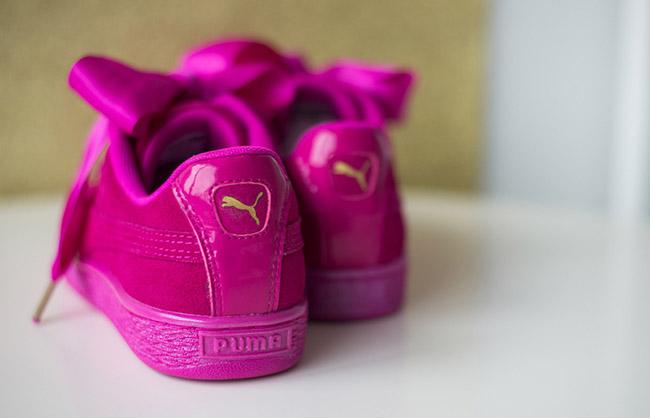 Puma Suede Heart Satin Valentines Day