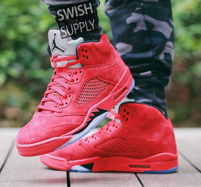 Air Jordan 5 Review Suède Rouge 2015 nouvelle vente eH1ozO7Te2