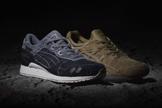 size? x Asics Gel Lyte Far Side of the Moon Pack
