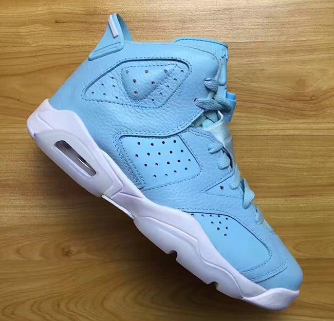Still Blue Air Jordan 6 Retro