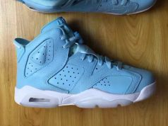 Still Blue Air Jordan 6 Retro