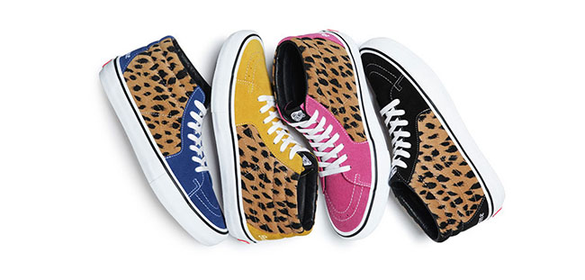 Supreme x Vans SK8-Mid Pro Collection Leopard