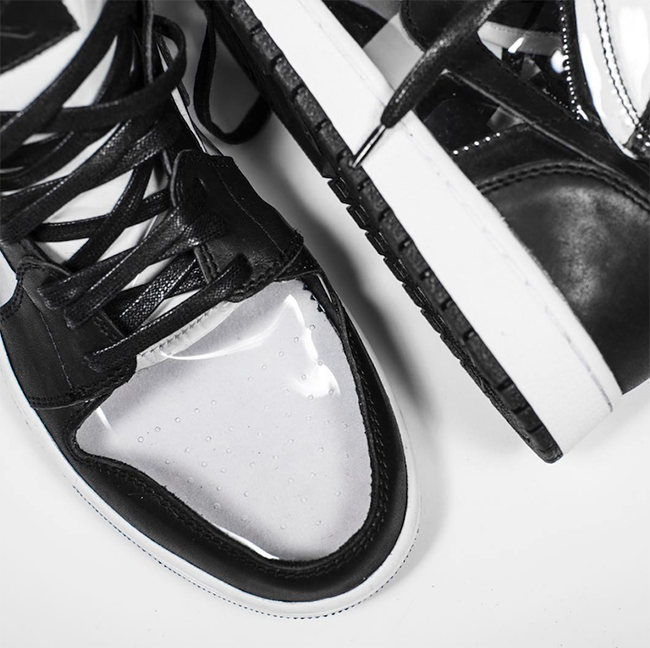 The Shoe Surgeon Comme des Garcons Air Jordan 1 Custom  b31222bb14