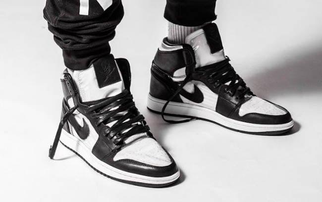 najlepsza obsługa wielka wyprzedaż uk tanie jak barszcz The Shoe Surgeon Comme des Garcons Air Jordan 1 Custom ...