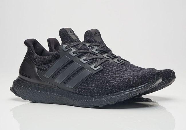 Triple Black adidas Ultra Boost 3.0